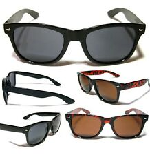 WAYFARER Sunglasses - BLACK (Medium) - 7 Different Styles - FREE POST IN AUS!!