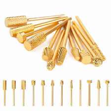 1pc Nail Drill Carbide Bit Replacement Professional Accessories Gold File 483One