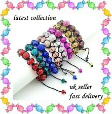 Shamballa 2012 latest collection handmade style Bracelet Crystal and Glass gift