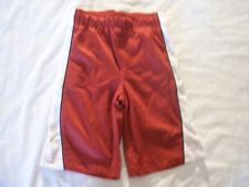NWT Boy's Gymboree Spy Guys red elastic athletic shorts ~ 6 12