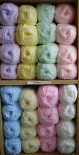 James Brett Shimmer Baby Double Knitting DK Wool / Yarn 100grams (See P&P below)