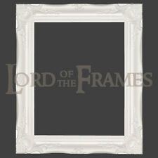 """3"""" White Shabby Chic Decorative Ornate Wood Swept Large Picture Frame 20x30"""""""