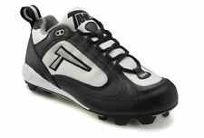 Tanel® 360° RPM Lite Low Cut Cleat Men's Ultimate Frisbee, Black & Silver NEW