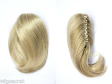 10 1/2 in 1 Length Medium Short Straight Clip-in-Extensions Clip On Hair Pieces
