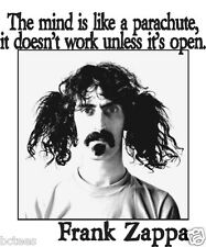 FRANK ZAPPA THE MIND IS LIKE A PARACHUTE GRAPHIC T-SHIRT