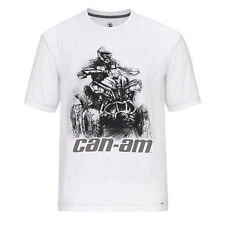 CAN-AM MENS RENEGADE TEE WHITE 286302-01