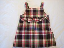 NWT Girl's Gymboree Pups and Kisses plaid sleeveless shirt ~ 4 6