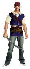 DISNEY PIRATES OF THE CARRIBEAN JACK SPARROW ALTERNATIVE  ADULT MENS COSTUME KIT