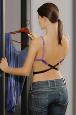 LOW BACK BRA STRAP CONVERTER FULLY ADJUSTABLE 1 HOOK - 4 COLOR ( BA05)