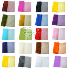 """30 x 275cm Organza Table Runners 12"""" x 108"""" Wedding Decoration Party Banquet"""