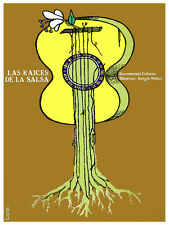6262. las raices de la salsa Dir. Sergio Nuñez POSTER. Wall Art Decorative.