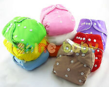 Lot Infant Baby Cloth Diaper One Size Reusable Nappy Covers Inserts U PICK New