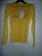 OXBOW Yellow Long Sleeved Arvine T-Shirt Size 8 NWT LAST ONE LEFT!!