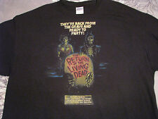 return of the living dead t shirt horror movie punk tsol the cramps the damned