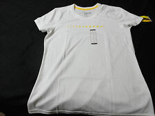 NIKE WOMEN'S NEW ATHLETIC WHITE TEE SHIRT VARIOUS SIZES