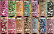Baker's Twine 4 ply cotton string cord crafts crochet thread 10 25 50 240 yards