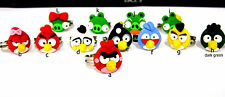 Super lovely and angry bird ring multiple designs. Coolest birds around