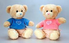 25cm Cuddles Baby Boy - Baby Girl- Keel Soft Plush Teddy Bear -Christening Gift