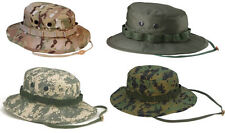 Rothco Military Style Boonie Hat w/ Adjustable Chin Strap