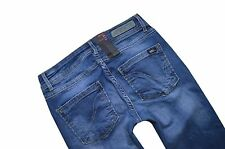 NEU ONLY Damen Hüft Jeans Hose STRAIGHT LOW AUTO RIM 2979 W 25 - 34 L 30 - 36
