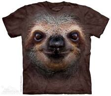 New SLOTH FACE T Shirt