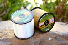 Nash Hardcore Carp Line *Clear or Brown / Bulk 1/4lb or 300m*  PAY ONE POST