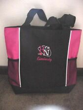 Personalized Nurse Tote Duffle Bag with side Pockets Hot Pink