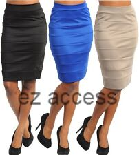 SeXY WoMeNS SKiRT ViNTaGe sty HiGH WaiSTeD FiTTeD PeNCiL KNee LeNGTH SKiRT S,M,L