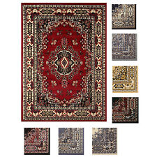 "Large Traditional 8x11 Oriental Area Rug Persian Style Carpet -Approx 7'8""x10'8"""