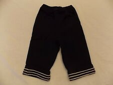 NWT Boy's Gymboree Construction Crew navy blue elastic pants ~ 6-12 months 3T 5T