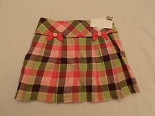 NWT Girl's Gymboree Equestrian Club pink green skorts skirt ~ 5 6 7 8 9 10 12
