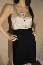 NWT Marc by Marc Jacobs TUX style silk & Wool dress  colorblock $398