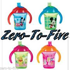 NEW MUNCHKIN CLICK LOCK TRAINING CUP -6 MONTHS + -MICKEY MOUSE -WINNIE POOH