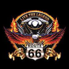 NEU, Biker, Chopper, Fantasy T-Shirt, Eagle, Adler, Route 66 Live Legend, S-6XL