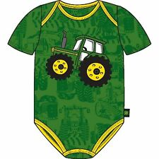 John Deere Green Creeper with Appliqued Tractor SN365G/SI365G