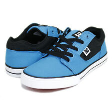 DC KIDS OLDER BOYS YOUTH SKATE SHOES BRISTOL CANVAS TURQUOISE / BLACK