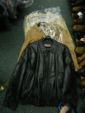 Men's Cripple Creek, Scully Leather Jackets in Brown or Black (XL) $100 OFF SALE