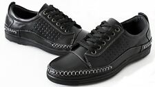 NEW PRIMIUM Mens Business Casual Dress Shoes Cheap Loafers Sneakers Blacks White