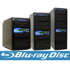 Blu-ray BD BDXL CD DVD Duplicator + 500GB & USB Multiple Disc Copier Burner