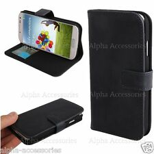Premium Leather Stand Case Cover Magnetic Closure For Samsung I9500 Galaxy S4 IV