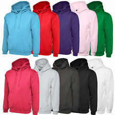 Classic Casual Hooded Sweatshirts Hoodies for Sports Leisure Work Mens & Womens