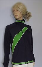 Ladies Puma Gym Running Jacket Casual Tracksuit Top in Navy Blue COLOUR !!!