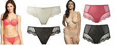 Panache Elsa Briefs Black, Ivory Nude, Pink 6692 Knickers, Hi Waisted Brief 6695