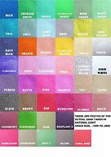 Colored Sand 16oz (1lb) Bag *125+ Colors Available* Unity Ceremony, Wedding, Art