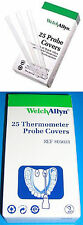 WELCH ALLYN Digital Thermometer Disposable Probe Covers 25 250 1000 05031 M031 !