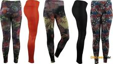 Mix Styles Leggings Tights Pants Long or 3/4 Lengths Colours Patterns Lace Skins