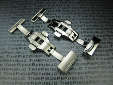 20mm Deployment Buckle Clasp Only for Thick Leather Strap 3.5mm 5.5mm Thickness