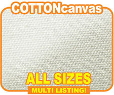 "Inkjet Cotton Canvas,Matte 100% Cotton Roll 340gsm x 18m. All Sizes 13"" - 60"""
