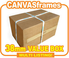 Canvas Stretcher Bars, Canvas Frames, Pine Wooden Gallery Bar 38mm - SOLD BY BOX