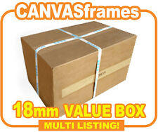 Canvas Stretcher Frames for Canvas Prints, Pine Wooden Bars 18mm - SOLD BY BOX